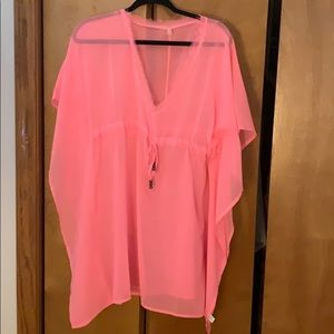 Echo Classic Butterfly Coverup Pink one size